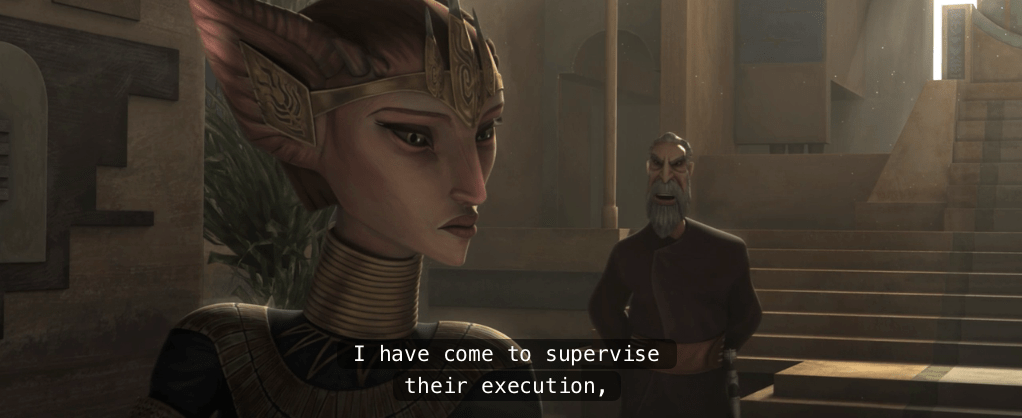 The Clone Wars, Season 4, Episode 13: Father-Daughter Day