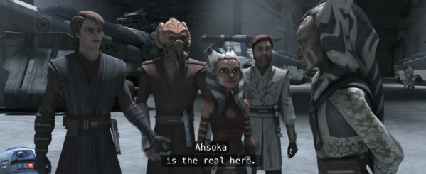TCW, Season 4, Episode 13: Father-Daughter Day – SNARK WARS