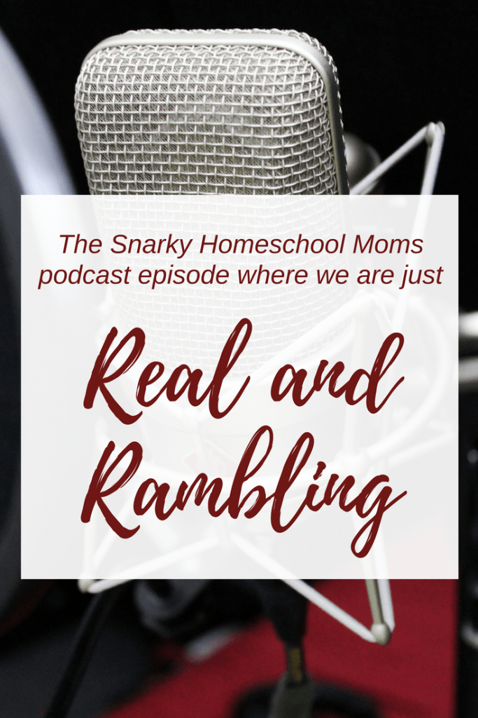 Snarky Homeschool Moms podcast