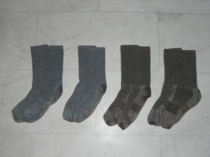 Merino backpacking socks