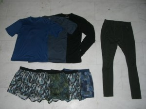 Ultralight clothing basics