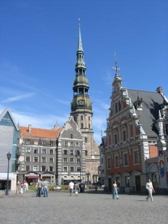 Town Square, Riga, Latvia