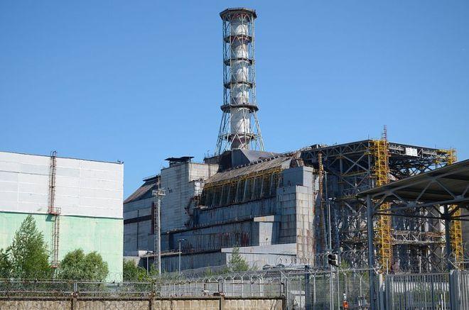 Chernobyl reactor, Ukraine