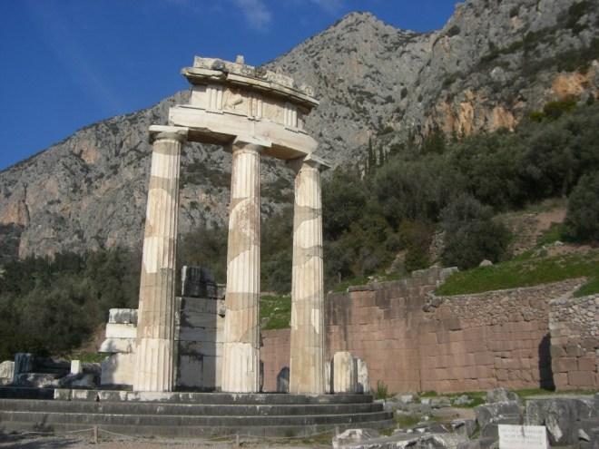 Delphi, Greece.