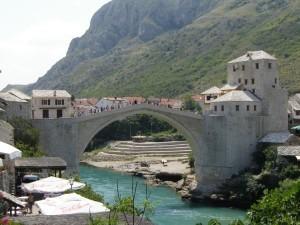 Mostar Bridge, Mostar, Bosnia and Herzegovina