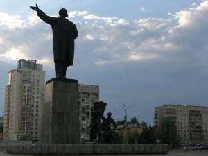 Lenin statue, Nizhniy Novgorod, Russia