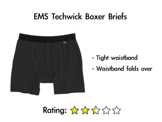 EMS Techwick Boxer Briefs
