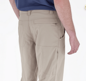 Royal Robbins Global Traveler Pant back detail
