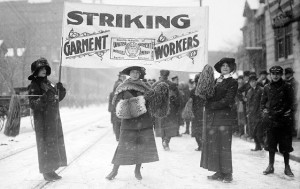Garment Workers Strike, Rochester, NY, 1913