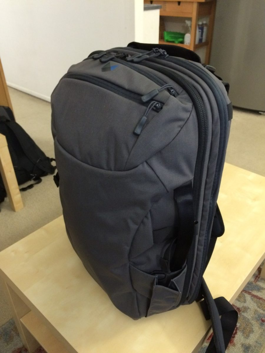 Testing The Minaal Carry On 2 0 Backpack Snarky Nomad