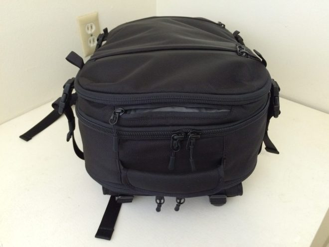 Aer Travel Pack top pocket