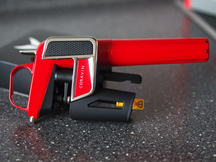 The Coravin Model Two Elite in Red
