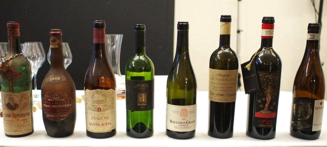 Eight bottles of vintage Amarone