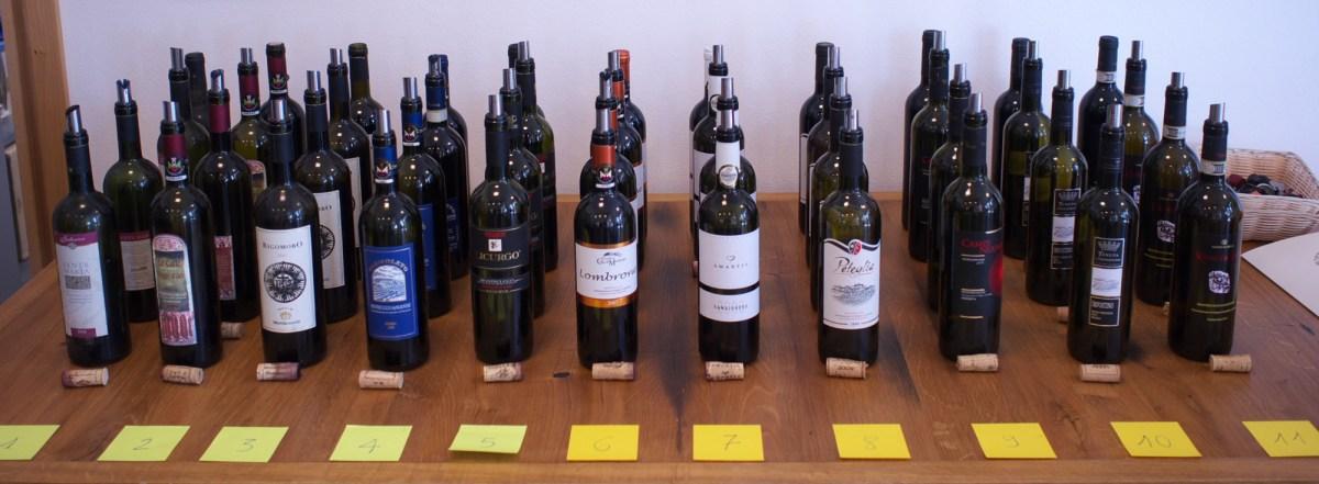 11 vintages of Montecucco DOC