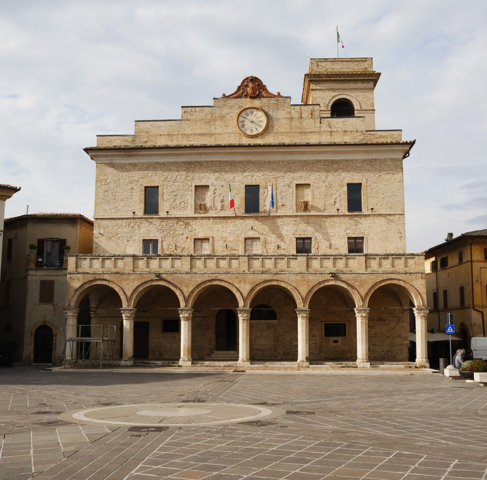 Town Hall in Montefalco