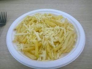 The cheese is there somewhere, honest.
