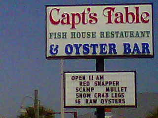 Captains Table Fish House Restaurant & Oyster Bar!  (1/6)