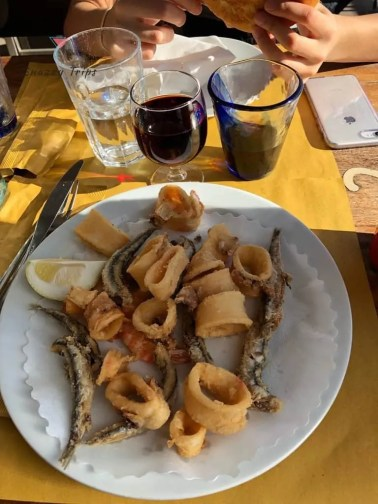 Mixed Seafood, Italy