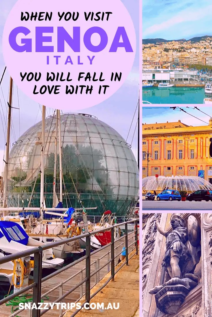 Fall in love with Genoa.