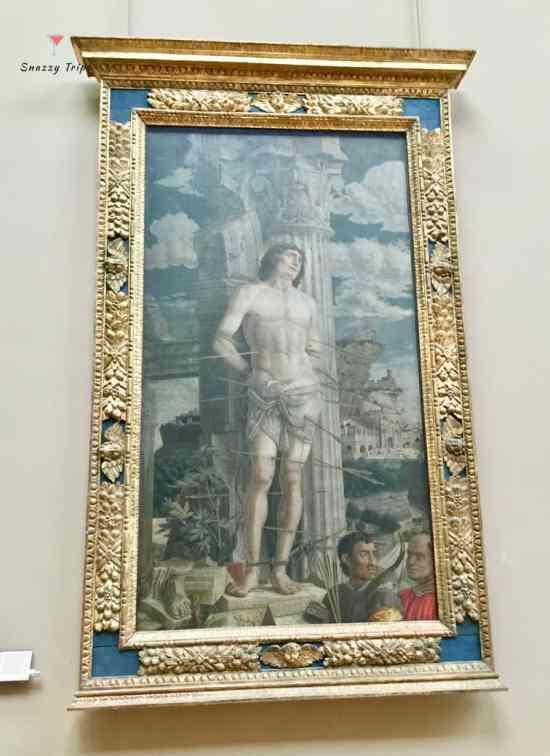 San Sebastian 1480, Andrea Mantegna