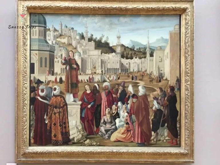 St Stephen Preaching 1515, Italian Renaissance, Vittore Carpaccio