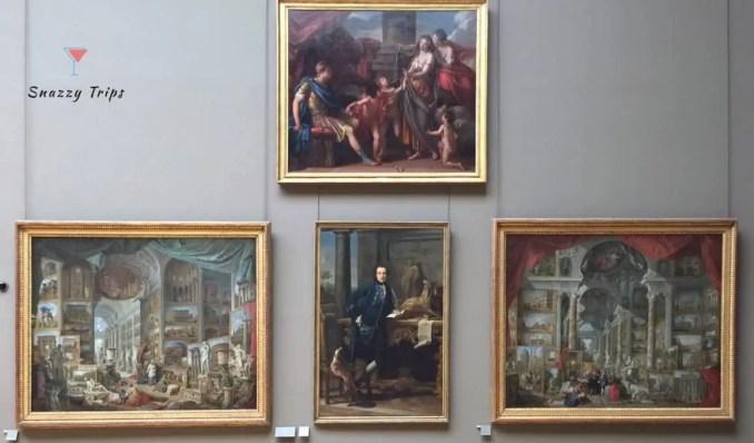 Ancient Rome (left) and Modern Rome (right), Giovanni Paolo Panini, Italian, 1758