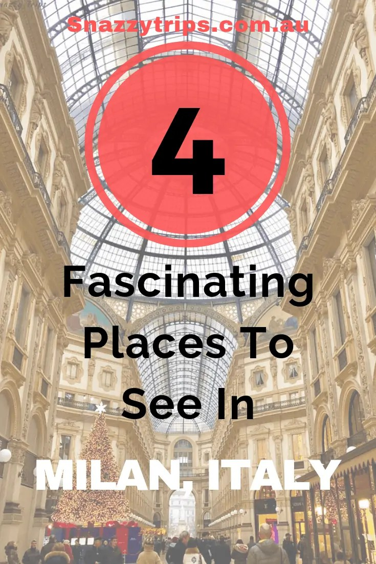places to see in Milan
