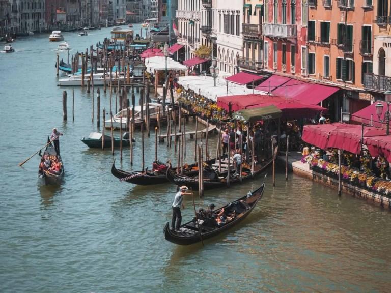 Experience A Gondola Ride In Venice