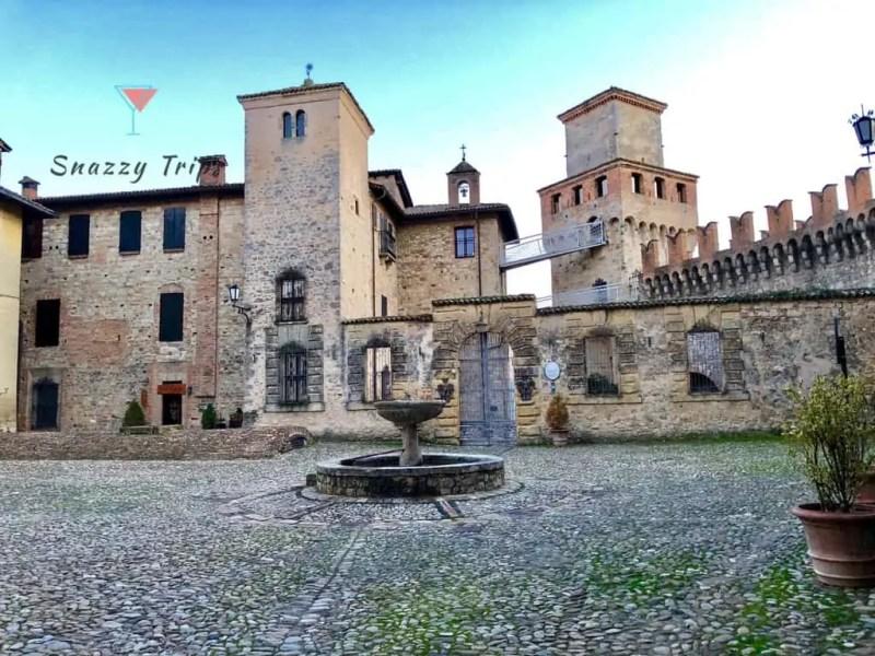 A Stay At Vigoleno Castle