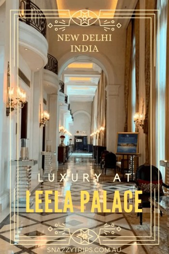 Luxury stay at Leela Palace