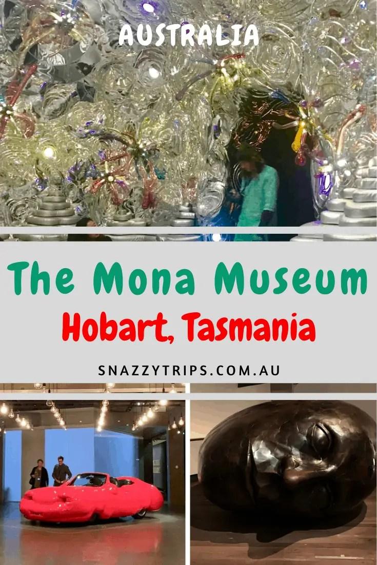 the bizarre Mona Museum Hobart Australia