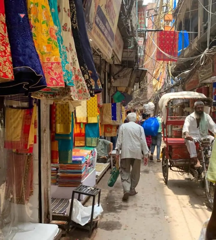 Rickshaw ride in Old Delhi