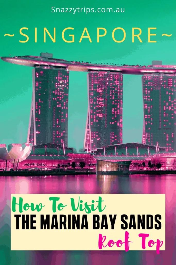 Marina Bay Sands roof top, Singapore