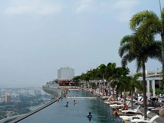 Marina Bay Sands roof top