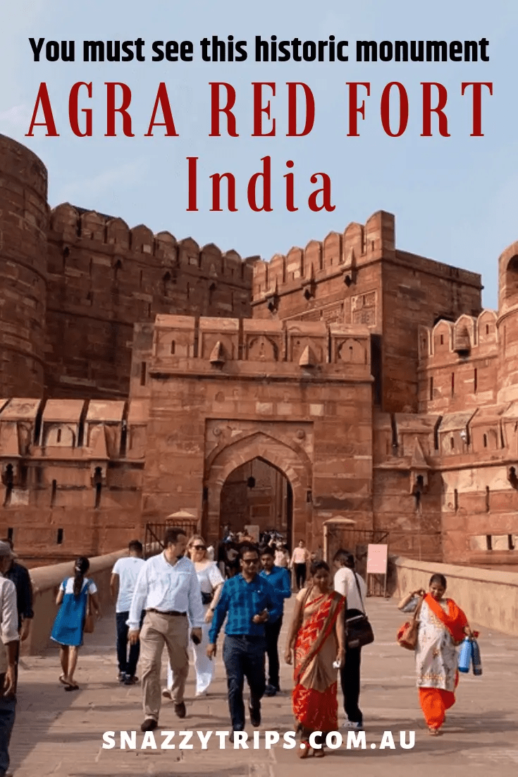 see agra red fort india