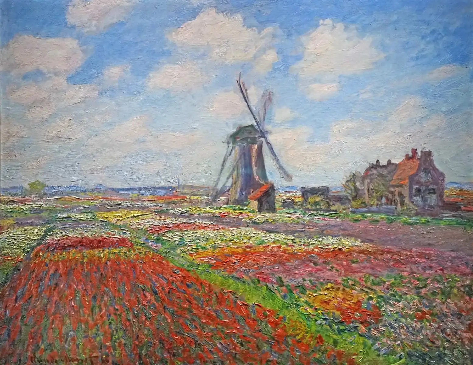 Champs de Tulipes de Claude Monet 1 Snazzy Trips