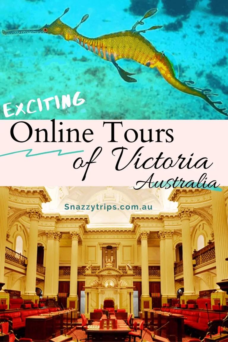 Online tours of Victoria