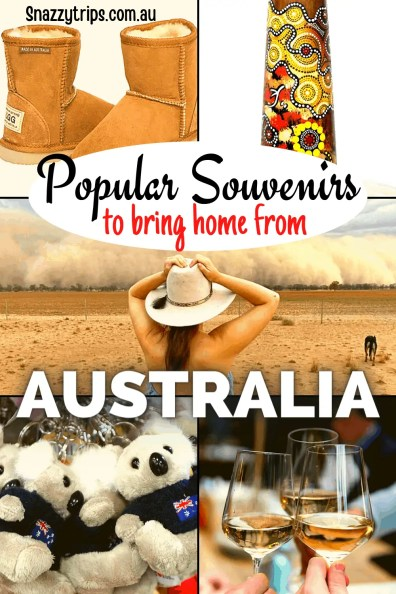 Popular Souvenirs to bring home from Australia