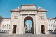 Porta Garibaldi, Milan, Italy