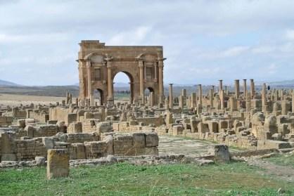 Trajan Arch, Timgad, Algeria