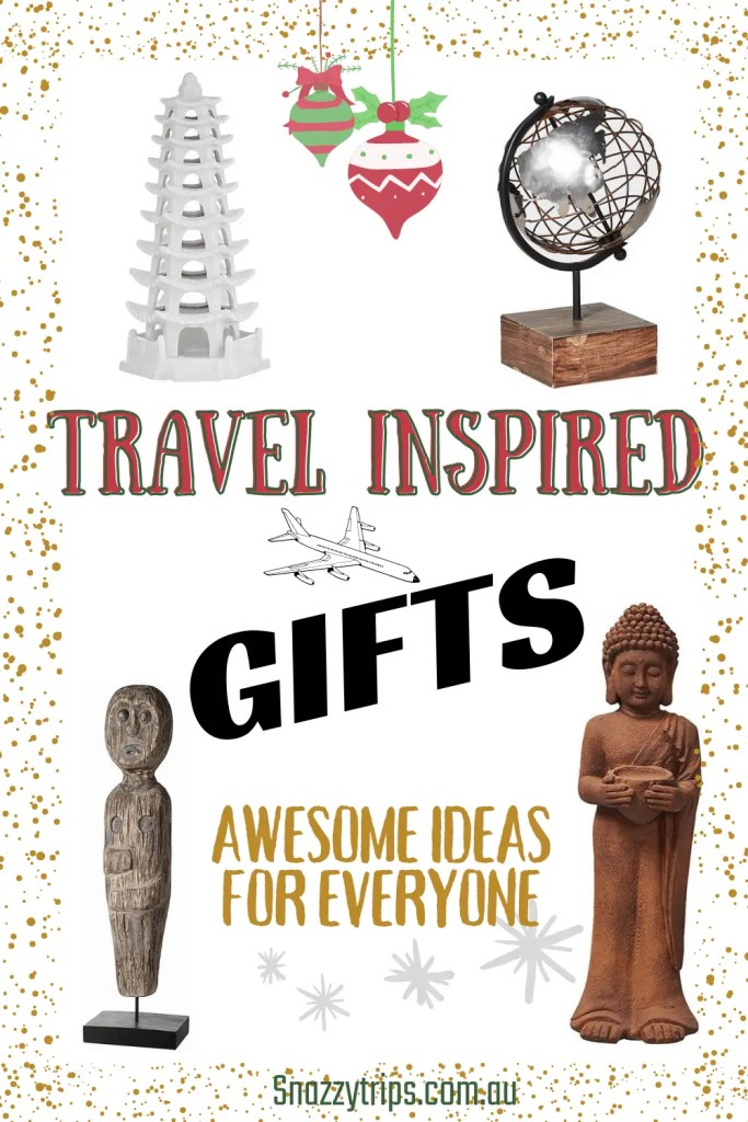 Travel inspired gifts Snazzy Trips