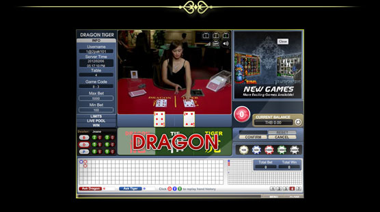 1scasino  dragon tiger