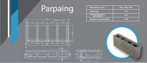 parpaing 100x200x500