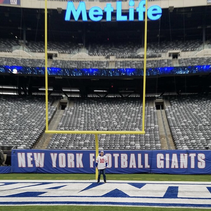 Giants Pre Game- MetLife Bowl