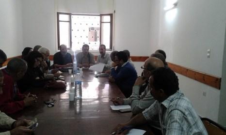 اجتماع المجلس الاقليمي للنقابة الوطنية للتعليم ف دش بفاس يوم 18 اكتوبر 2015