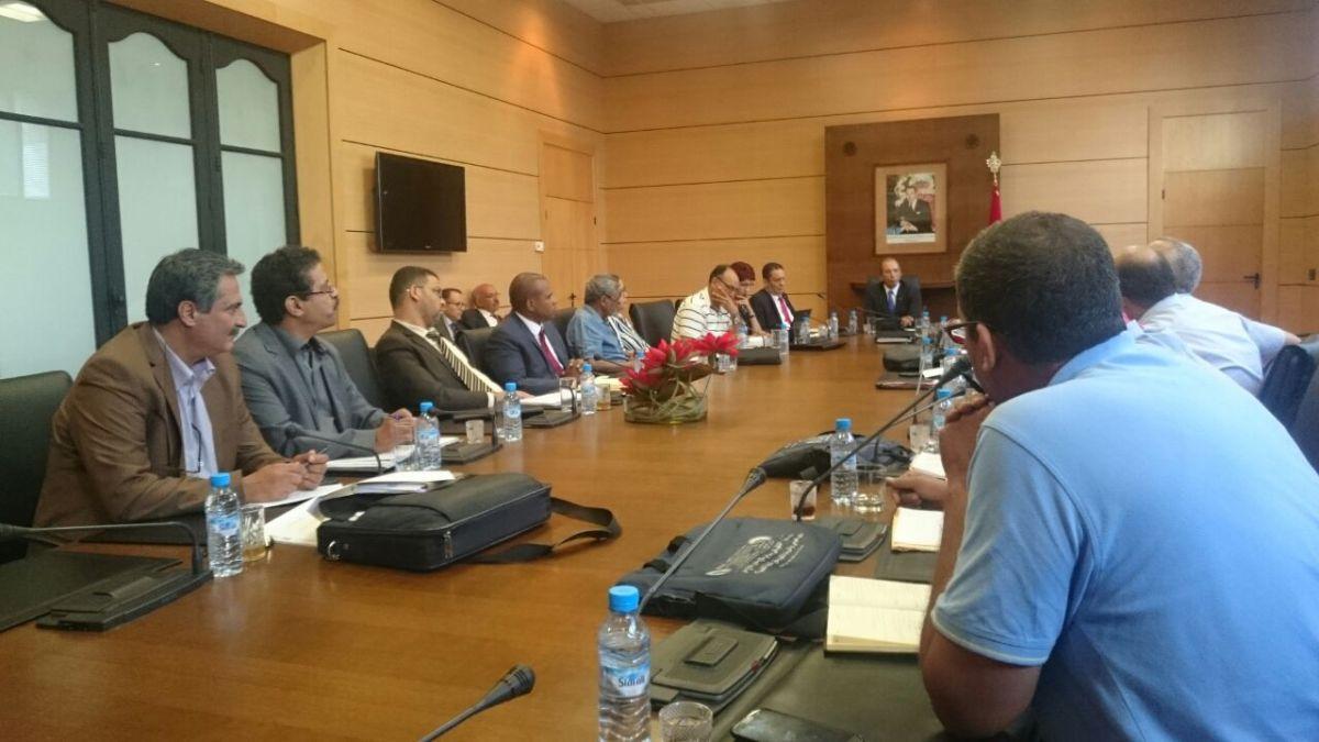 في لقاء النقابات التعليمية بالسيد وزير التربية الوطنية...خمس ساعات من النقاش الأجوف، والإبقاء على الاجتماع مفتوحا