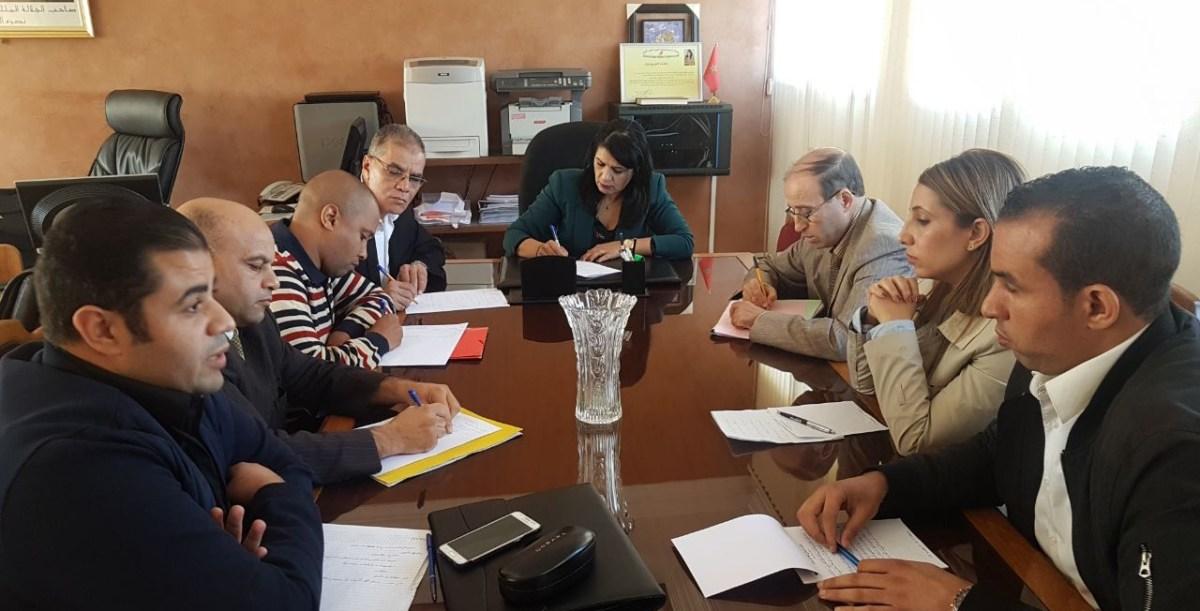 قضايا نساء ورجال التعليم على طاولة التداول بالمديرية الإقليمية لعين الشق بالدار البيضاء