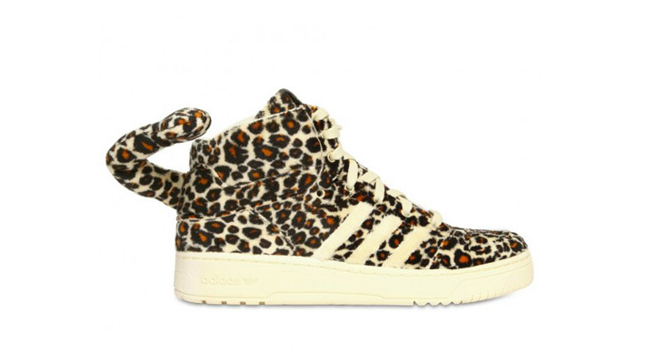 Photo01 - adidas Originals x Jeremy Scott Leopard Tail Sneakers