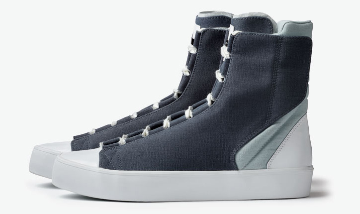 Photo01 - ADIDAS SLVR HIGH TOP LACE