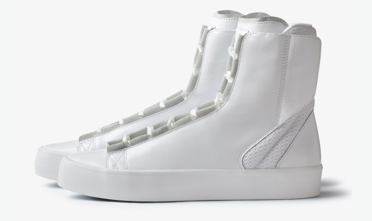 Photo02 - ADIDAS SLVR HIGH TOP LACE
